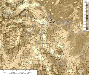 Isostatic Gravity Anomaly Map